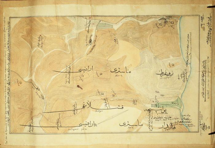 топографска карта от 1866_r